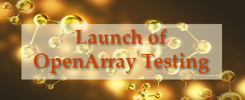 Launch of OpenArray Testing